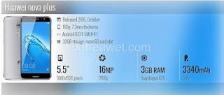 15. Huawei nova plus