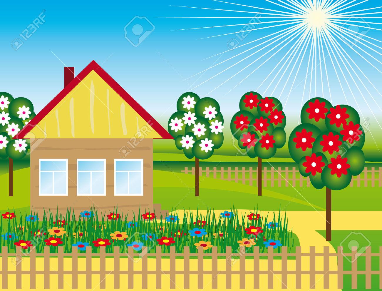 Ingl s en infantil unit 5 lesson 1 5 a os - Casa campo y jardin ...