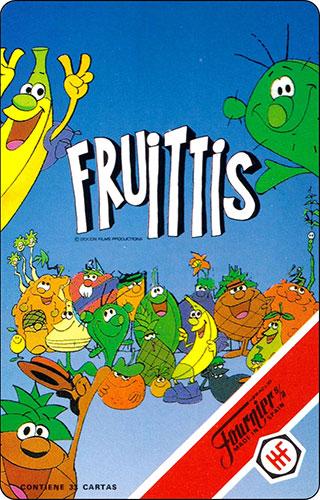 Baraja Los Fruittis Reglamento 1