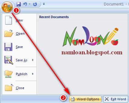 Sửa lỗi số trang không hiện khi soạn thảo và khi in trong word 2003, 2007, 2010, 2013