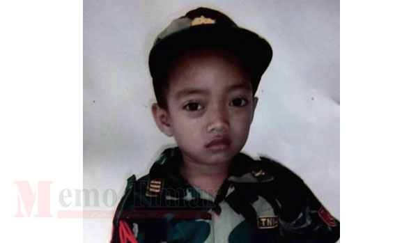 Foto M. Saiyen yang diculik