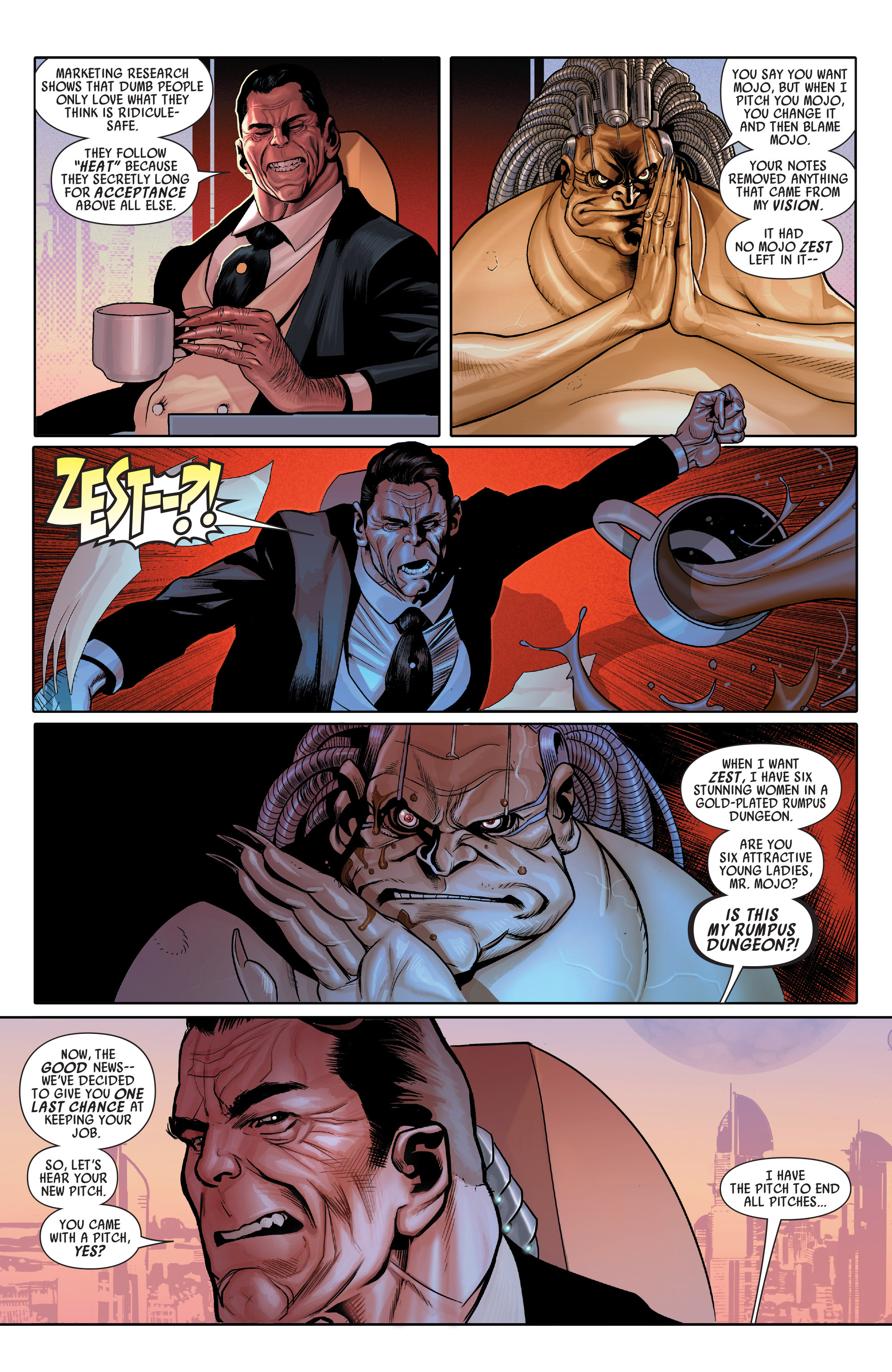 Read online Uncanny Avengers (2012) comic -  Issue # Annual 1 - 4