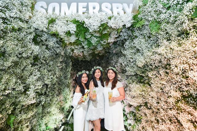 Savouring A Floraltwist With Somersby Elderflower Lime