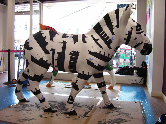 martin davey illustration zany Zebra