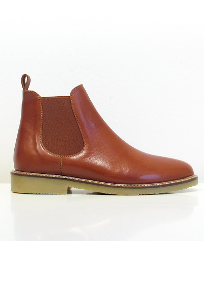 Boots Jim Lane cuir terra Sessun