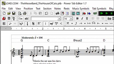 تحميل برنامج محرر النوتة الموسيقية | Download Power Tab Editor