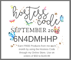 September 2019 Hostess Code
