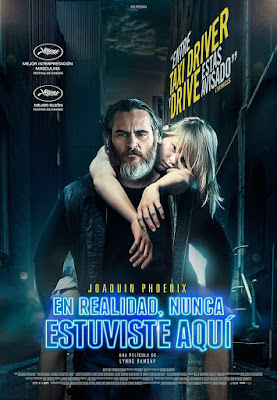 You Were Never Really Here Movie Poster 2