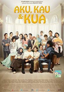 Poster Film Aku, Kau & KUA