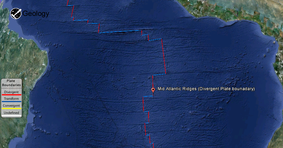 Mid Atlantic Ridge Geology Page