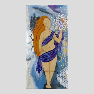The Abundant Goddess Original Painting Goddess Art Spiritual Intention