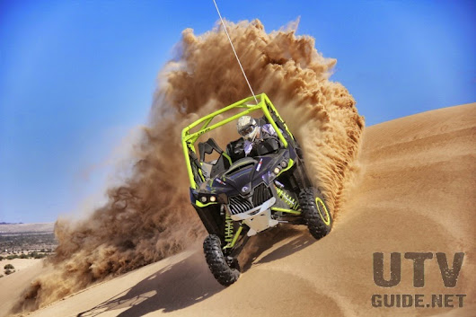 UTV Guide Blog | UTV Guide: 121-HP Can-Am Maverick Turbo Takes on Glamis