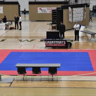 2018 Winter Badger State Games Greatmats Martial Arts Mats