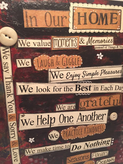 Home Rules Laugh Giggle Practice Kindness by CreativeSteph13