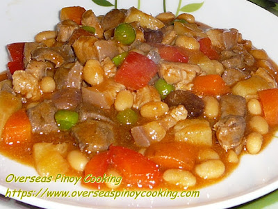 Menudo with Baked Beans Recipe