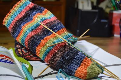 hand knit socks by https://www.etsy.com/shop/JeannieGrayKnits