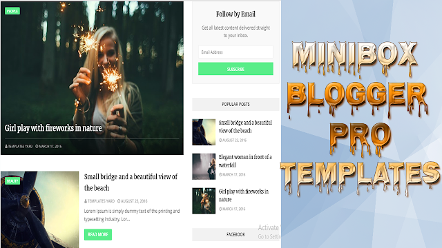 How To Download And Install | MINIBOX | Blogger Pro Templates | 2019 Free Download