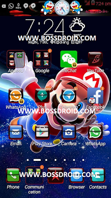 Download Themes Mario For Asus Zenfone