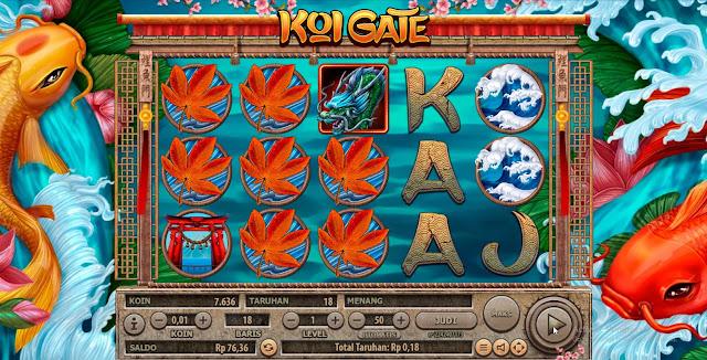 OKE77.COM AGEN SLOT GAMES KOI GATE HANABERO ONLINE