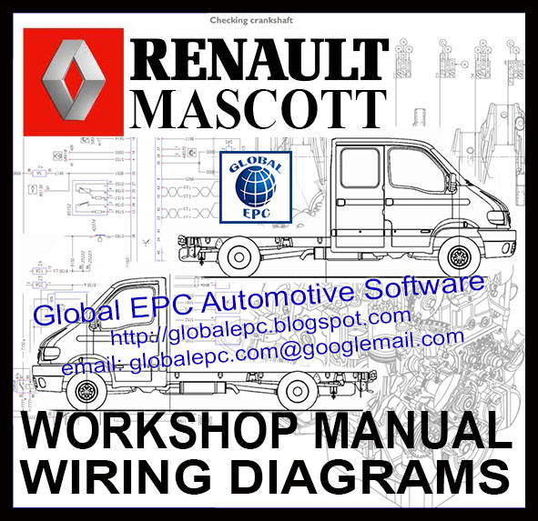 Global Epc Automotive Software  Renault Master Mascott
