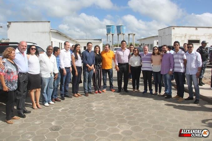 Prestigio do Dep. Levi Pontes e Magno Bacelar junto ao governo Estadual garantem entrega da UPA e Corpo de Bombeiros dia 29 de Março.