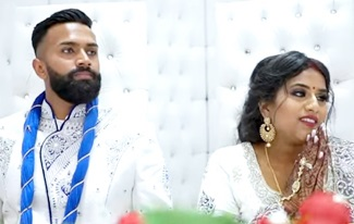 Tamil Wedding Reception | Party | Germany | Highlight | Roshan Weds Shauthri