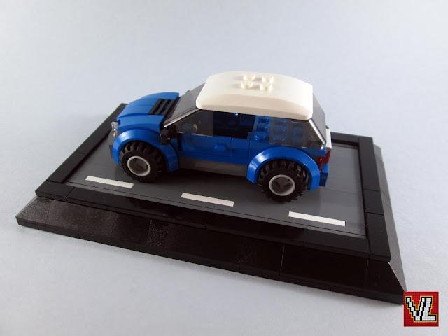 MOC LEGO Carro azul