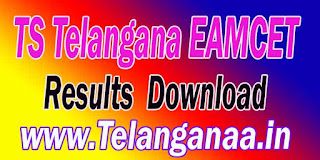 TS Telangana EAMCET TSEAMCET 2017 Results Download