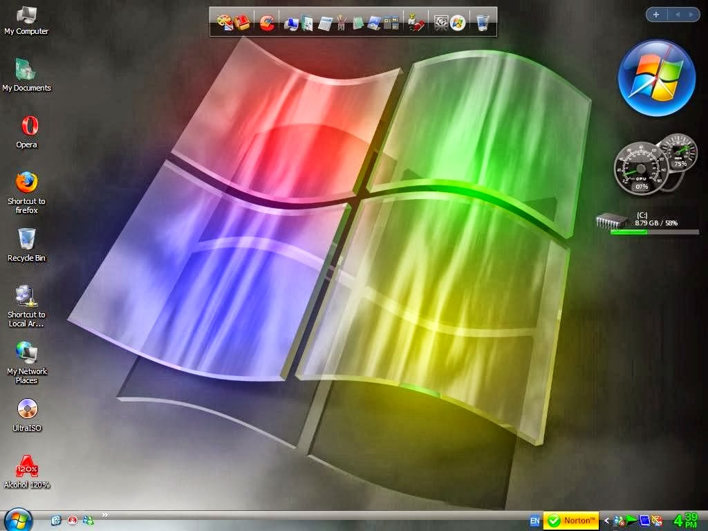 Download Windows XP Pro SP3 Gold Cobra Edition 2014 Full ...