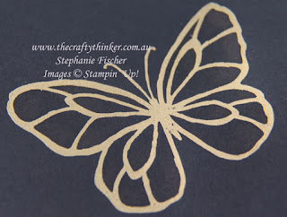 #thecraftythinker, #stampinup, #cardmaking, #bleachingtechnique, Bleaching Technique, Beautiful Day, #InkitStampit, Stampin' Up! Australia Demonstrator, Stephanie Fischer, Sydney NSW