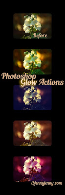 FREE PHOTOSHOP GLOW ACTIONS