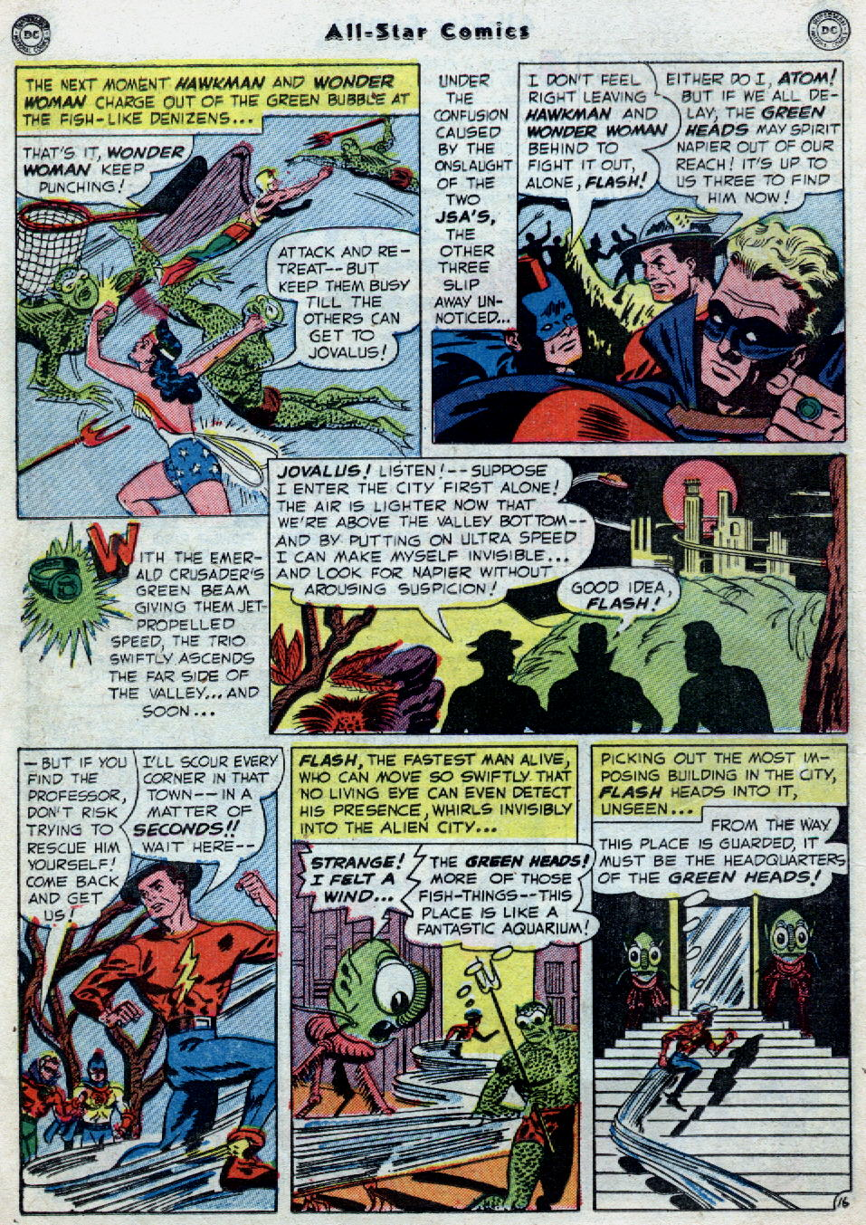 Read online All-Star Comics comic -  Issue #55 - 20