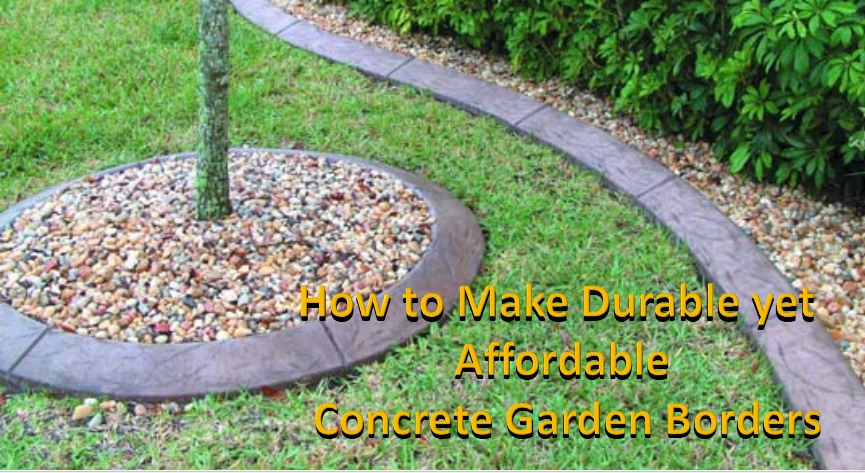 Kwik Kerb by Harry: How to Make Durable Yet Affordable Concrete