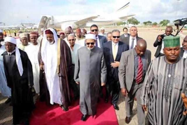World's Top Islamic Figure Arrives Nigeria, Set To Meet Buhari (Photo)