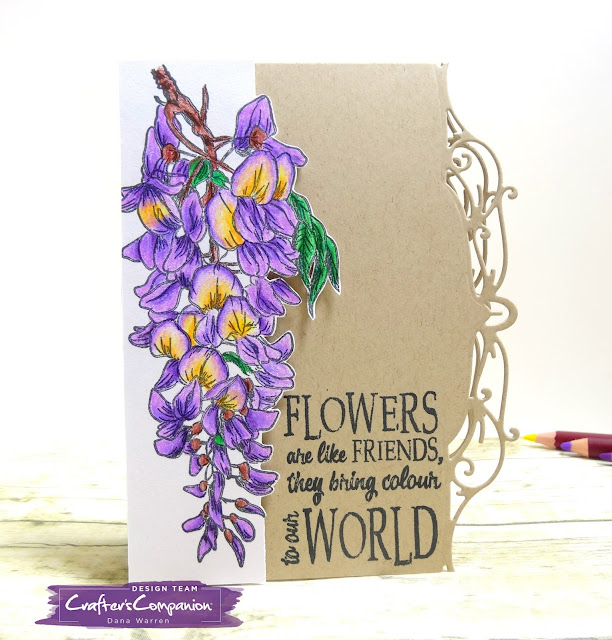 Dana Warren - Kraft Paper Stamps - Crafter's Companion
