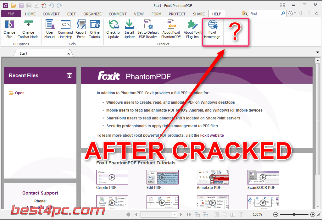 Foxit Phantompdf Business 7 With Patch Full Version Free