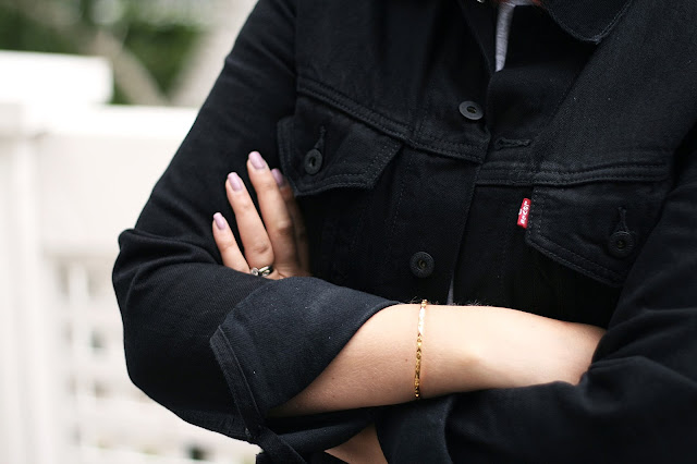 Levis, black denim jacket, style, street style, fashion, fashion blogger
