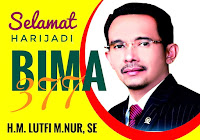 HM. Lutfi, SE, MM, Balon Walikota Bima 2018-2023