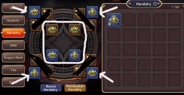 Tips Pemula Fungsi Dan Cara Mendapatkan Heraldry Skill Dragon Nest M-SEA