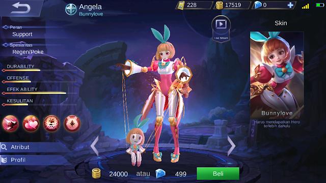 Angela, Tukang Support Pengendali Boneka