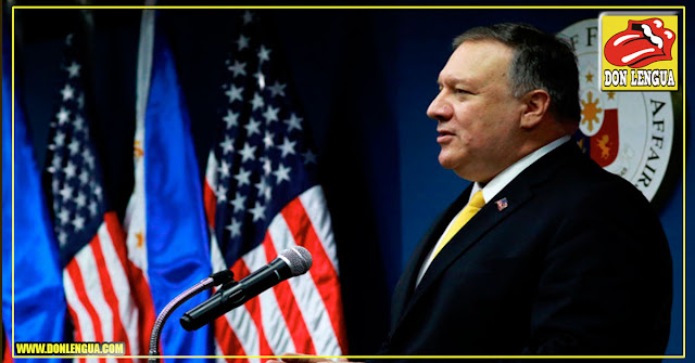 Mike Pompeo ordenó el retiro de todo el personal de la embajada de EEUU en Venezuela