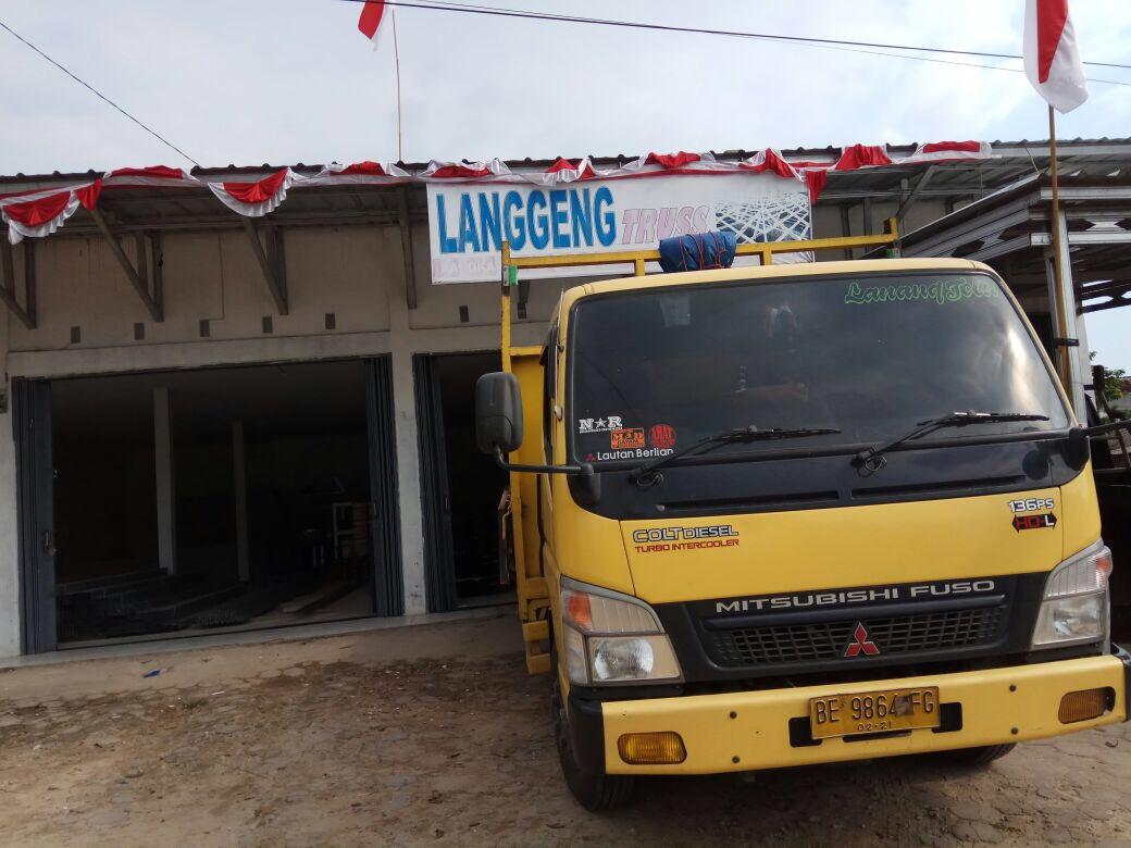 Toko Baja Ringan Bandar Lampung Barang Di Langgeng Truss