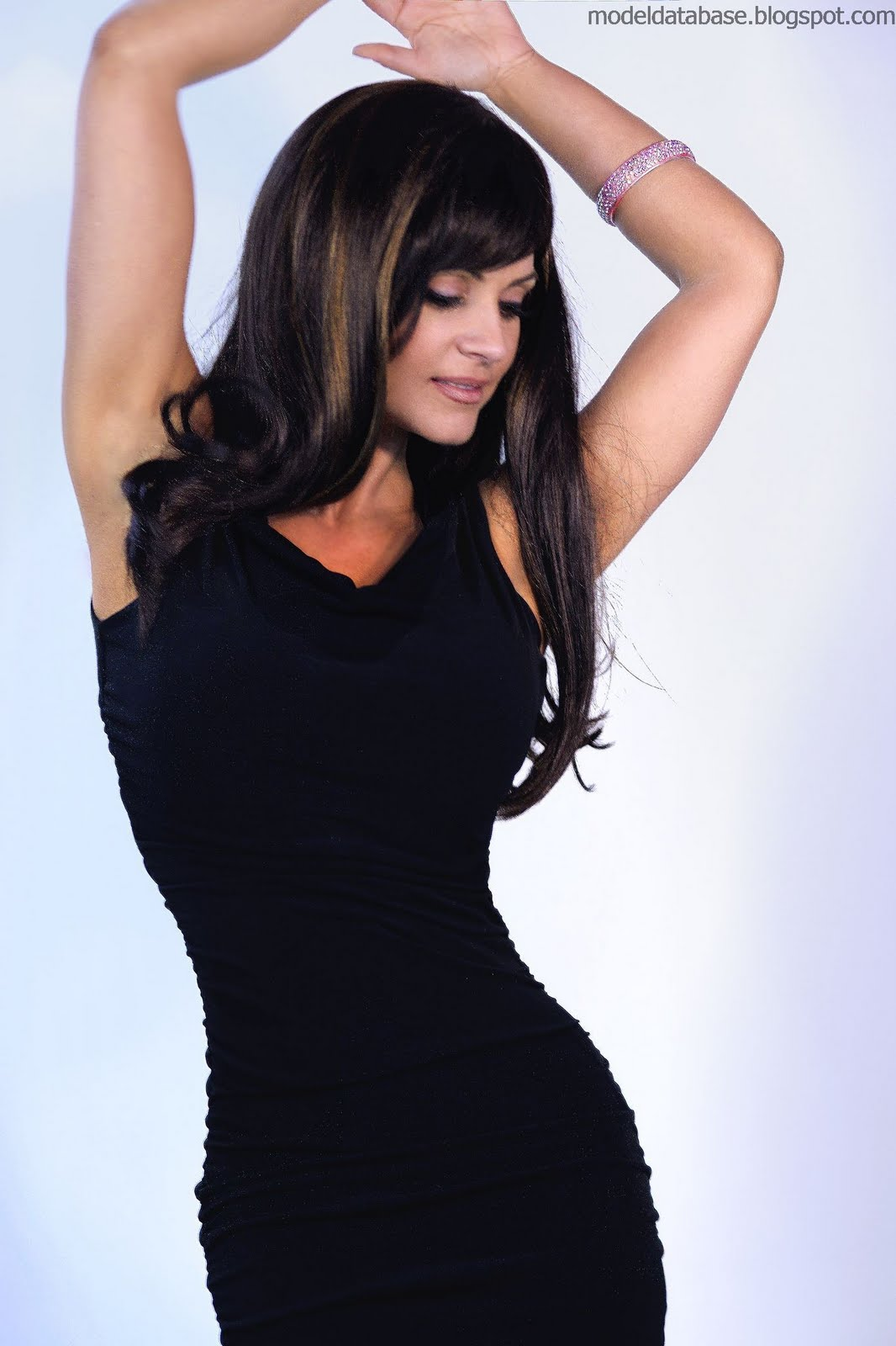 denise milani in a dress - photo #25