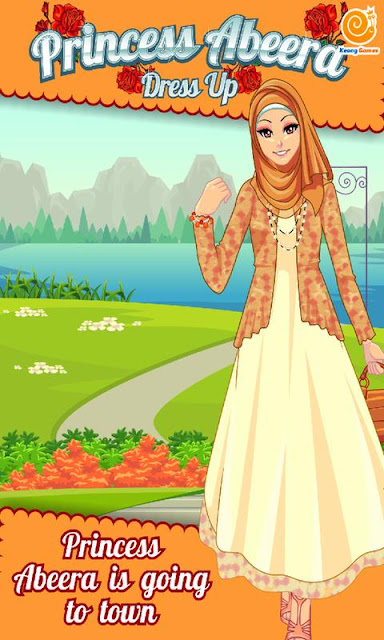 Princess Abeera Hijab Dress Up