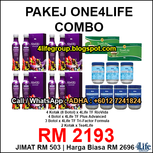 foto Pakej One4Life Combo