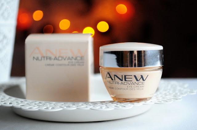 NOWOŚĆ! | AVON | Anew Nutri Advance | Odżywczy krem do pielęgnacji okolic oczu