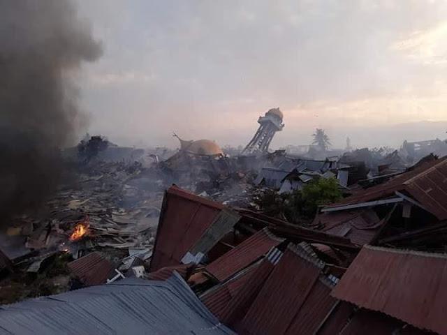 Bocah 8 Tahun Tersangkut di Atap Rumah Saat Tsunami Palu, Berikut Kesaksiannya