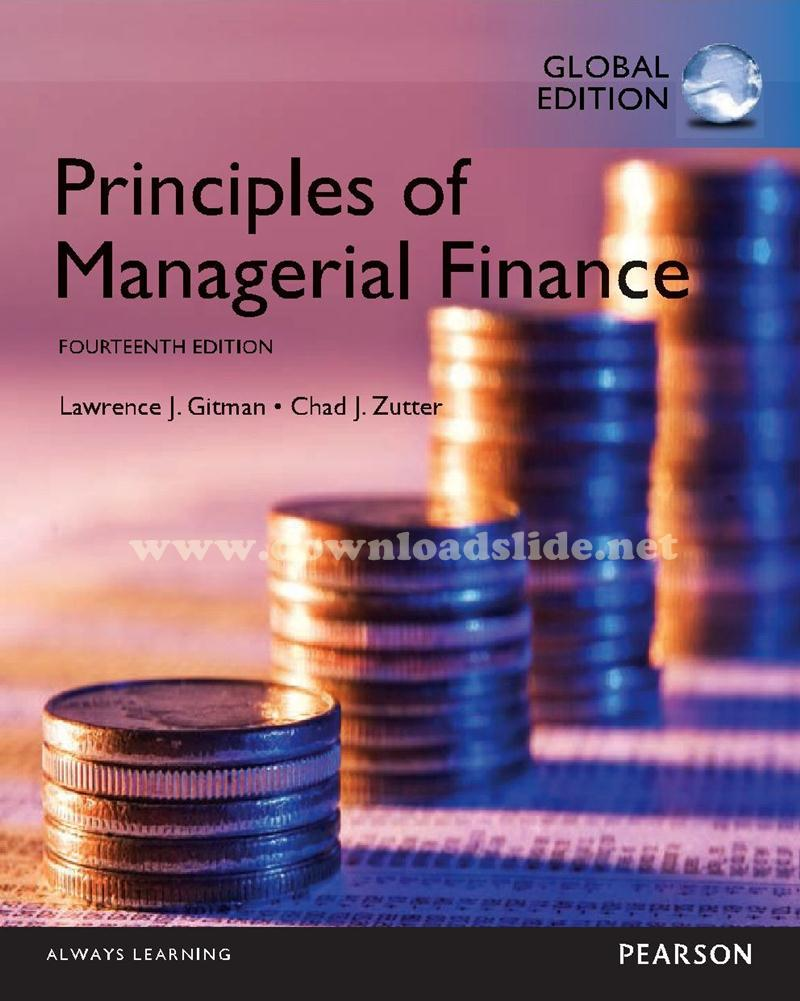 Ebook Principles of Managerial Finance 14th Edition by Gitman (Global  Edition)
