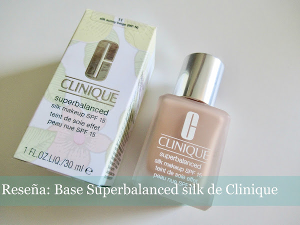 Reseña: Base Superbalanced silk de Clinique