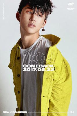 komposer dan beliau merupakan member dari boy group  Profil B.I (Kim Han Bin)